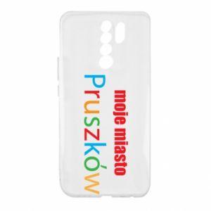 Xiaomi Redmi 9 Case Inscription: My city Pruszkow