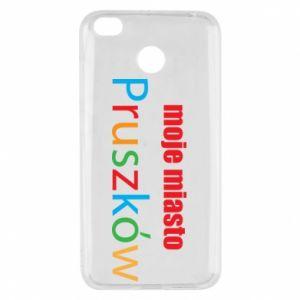 Xiaomi Redmi 4X Case Inscription: My city Pruszkow