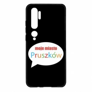 Xiaomi Mi Note 10 Case Inscription: My city Pruszkow