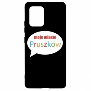 Samsung S10 Lite Case Inscription: My city Pruszkow