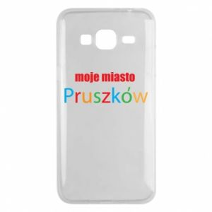 Phone case for Samsung J3 2016 Inscription: My city Pruszkow