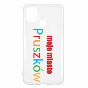 Samsung M31 Case Inscription: My city Pruszkow