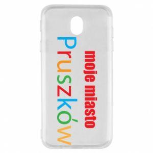 Samsung J7 2017 Case Inscription: My city Pruszkow