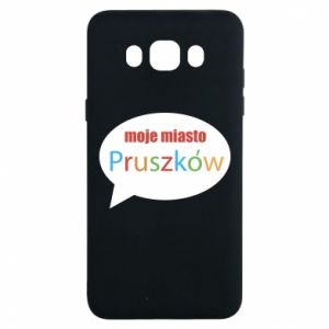 Samsung J7 2016 Case Inscription: My city Pruszkow