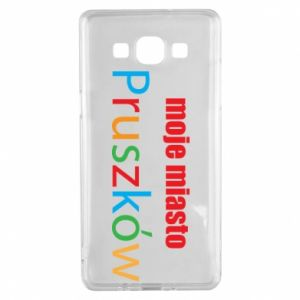 Samsung A5 2015 Case Inscription: My city Pruszkow