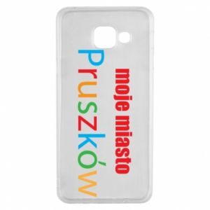 Samsung A3 2016 Case Inscription: My city Pruszkow