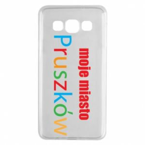 Samsung A3 2015 Case Inscription: My city Pruszkow