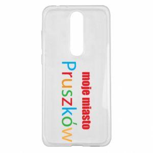 Nokia 5.1 Plus Case Inscription: My city Pruszkow