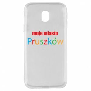 Phone case for Samsung J3 2017 Inscription: My city Pruszkow