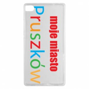 Huawei P8 Case Inscription: My city Pruszkow