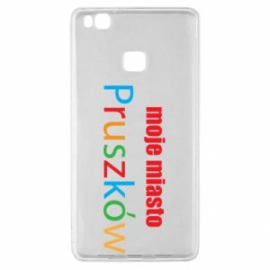 Huawei P9 Lite Case Inscription: My city Pruszkow