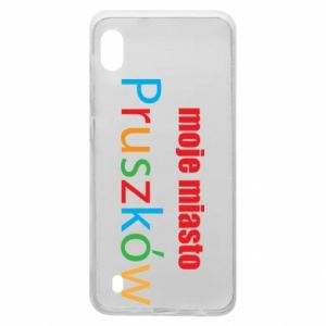 Samsung A10 Case Inscription: My city Pruszkow