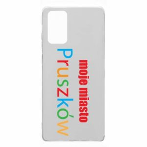 Samsung Note 20 Case Inscription: My city Pruszkow