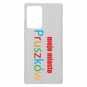 Samsung Note 20 Ultra Case Inscription: My city Pruszkow
