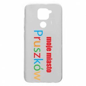 Xiaomi Redmi Note 9 / Redmi 10X case % print% Inscription: My city Pruszkow