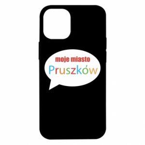 iPhone 12 Mini Case Inscription: My city Pruszkow