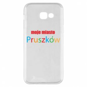 Phone case for Samsung A5 2017 Inscription: My city Pruszkow