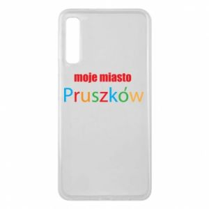 Phone case for Samsung A7 2018 Inscription: My city Pruszkow