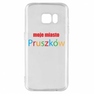 Phone case for Samsung S7 Inscription: My city Pruszkow
