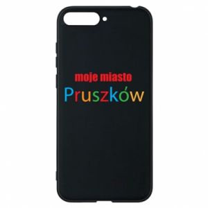 Phone case for Huawei Y6 2018 Inscription: My city Pruszkow