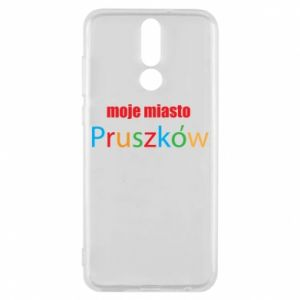 Phone case for Huawei Mate 10 Lite Inscription: My city Pruszkow