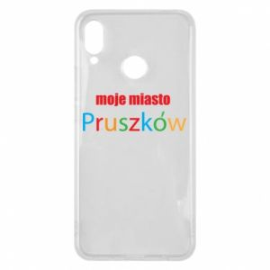 Phone case for Huawei P Smart Plus Inscription: My city Pruszkow