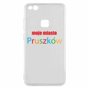Phone case for Huawei P10 Lite Inscription: My city Pruszkow
