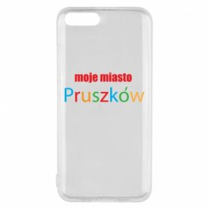 Phone case for Xiaomi Mi6 Inscription: My city Pruszkow
