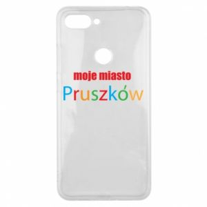 Phone case for Xiaomi Mi8 Lite Inscription: My city Pruszkow