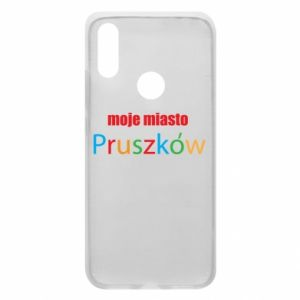 Phone case for Xiaomi Redmi 7 Inscription: My city Pruszkow