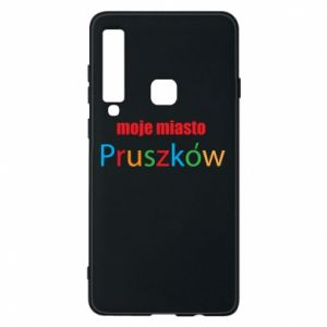 Phone case for Samsung A9 2018 Inscription: My city Pruszkow
