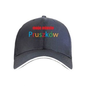 Cap Inscription: My city Pruszkow