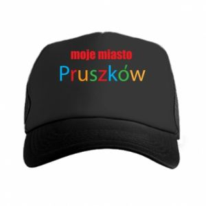 Trucker hat Inscription: My city Pruszkow