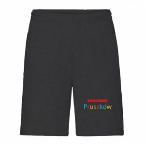 Men's shorts Inscription: My city Pruszkow
