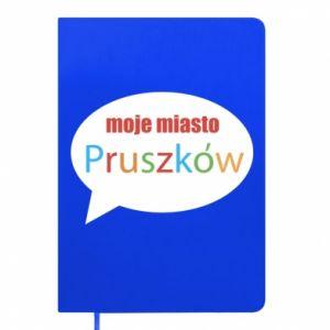 Notes Napis: Moje miasto Pruszków