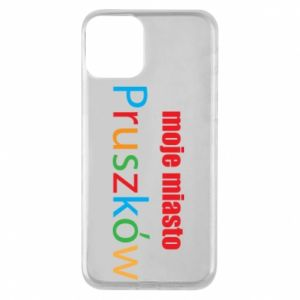 Phone case for iPhone 11 Inscription: My city Pruszkow