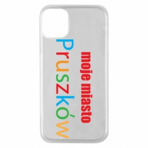 Phone case for iPhone 11 Pro Inscription: My city Pruszkow