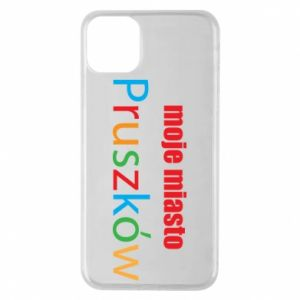 Phone case for iPhone 11 Pro Max Inscription: My city Pruszkow