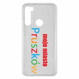 Xiaomi Redmi Note 8 Case Inscription: My city Pruszkow