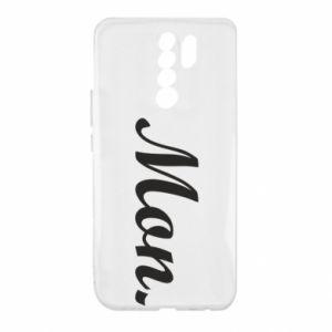 Etui na Xiaomi Redmi 9 Napis: Monday