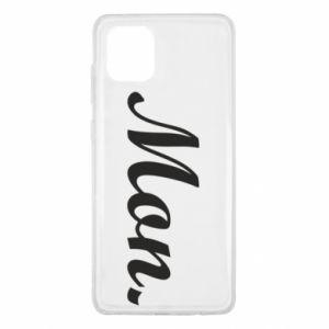 Etui na Samsung Note 10 Lite Napis: Monday