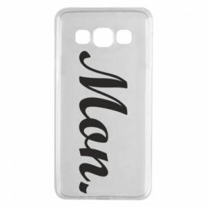 Etui na Samsung A3 2015 Napis: Monday