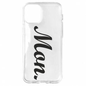 Etui na iPhone 12 Mini Napis: Monday