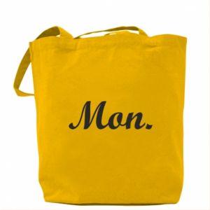 Bag Inscription: Monday
