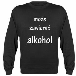 Bluza (raglan) Napis - Może zawierać alkohol