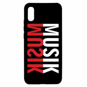 Xiaomi Redmi 9a Case Napis Music
