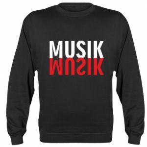 Bluza Napis Muzyka