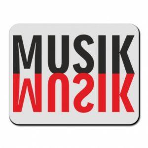 Podkładka pod mysz Napis Muzyka