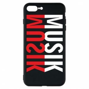 Etui do iPhone 7 Plus Napis Muzyka