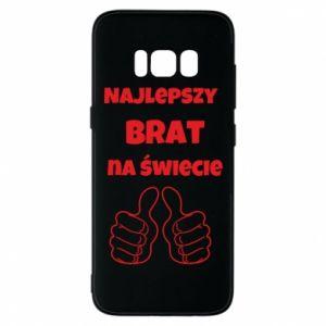 Etui na Samsung S8 Napis - Najlepszy brat na świecie